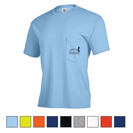 Promotional Delta Magnum Weight Adult Pocket Tee