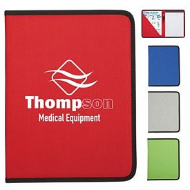 Customized 8-1-2 X 11 Denver Colored Padfolio