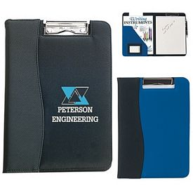 Custom Microfiber Clip Board With Embossed Pvc Trim