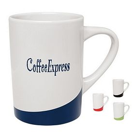 Promotional 14 oz. The Curve Coffee Mug