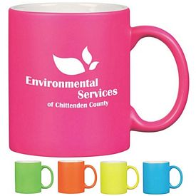 Promotional 11 oz. Neon C-Handle Mug