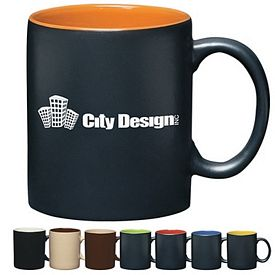 Promotional Ceramic Mugs: Promotional 11 oz. Aztec Coffee Mug