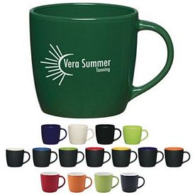 Promotional 12 oz Cafe Coffee Mug