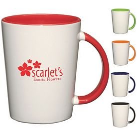 Promotional Ceramic Mugs: Promotional 14 oz. Capri Mug