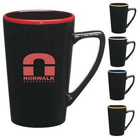 Promotional Ceramic Mugs: Promotional 14 oz. Sausalito Mug