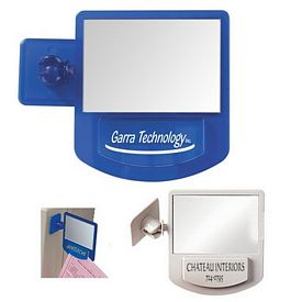 Custom Computer Mirror Memo Holder