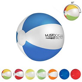 Promotional 12 Multi Colored Beach Ball