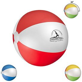 Custom 20 Multi Colored Beach Ball