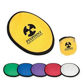 Custom 10 Flying Disc With Matching Pouch
