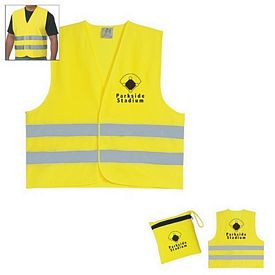 Customized Reflective Travel Safety Vest