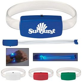 Promotional Night Walk Glow Light Wristband