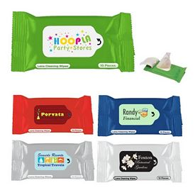 Promotional Lens Cleaner Wipes Packet