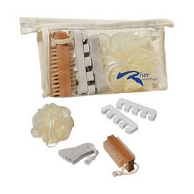 Promotional Small Bath Sponge Foot Care Kit