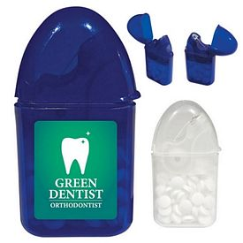 Promotional Dental Floss And Mint Combo