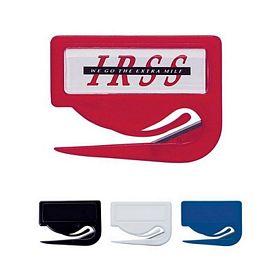 Promotional Letter Openers: Promotional Jiffi Slitter Letter Opener Dome Logo