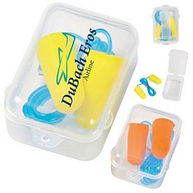 Promotional Foam Ear Plug Set