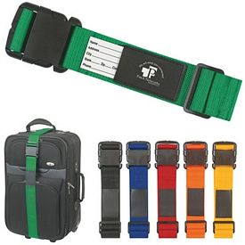 Promotional Luggage Safety Strap Bag Identifier