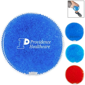 Custom Round Gel Beads Hot Cold Pack