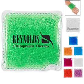Promotional Square Gel Beads Hot Cold Pack