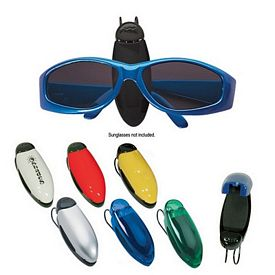 Promotional Car Visor Eyeglass Sunglass Holder Clip