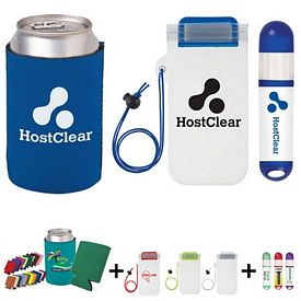 Promotional Fun In The Sun Koozie Pouch Kit