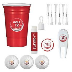 Promotional Party Tournament Cup Golf Accessory Kit