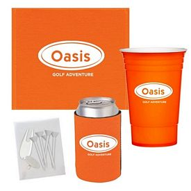 Promotional Towel Cup Golf Accessory Kit