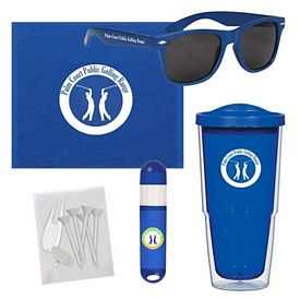 Promotional Towel Tumbler Golf Accessory Kit