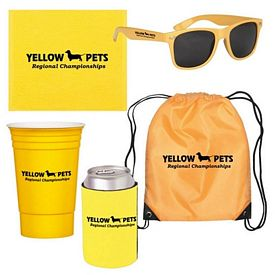 Custom Tailgate Drawstring Bag Can Cooler Kit