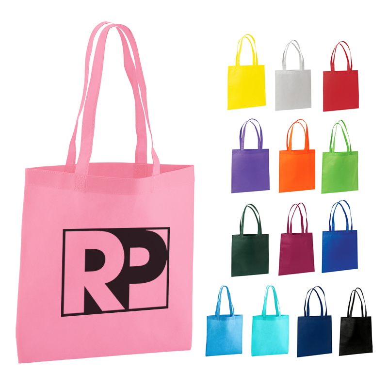 Promotioinal Value Nonwoven Trade Show Tote Bag
