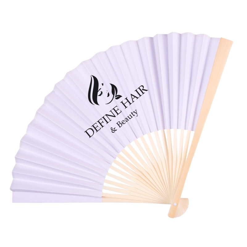 Customized Oriental Style Folding Fan Promotional