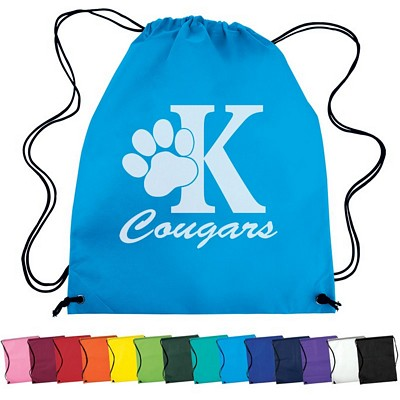 Promotional Nonwoven Drawstring Cinch Up Backpack