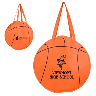 Custom Rallytotes Basketball Tote Bag