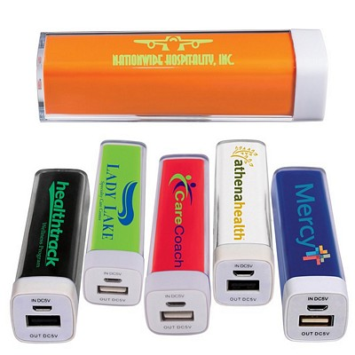 Promotional Plastic Mobile Power Bank Charger