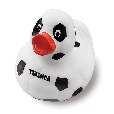 Promotional Soccer Rubber Duck