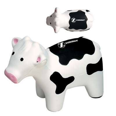 Customized Cow Advertising Stress Reliever