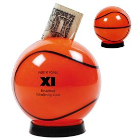 Promotional Basketball Coin Bank