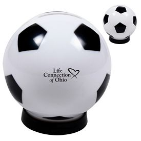 Customized Soccer Coin Bank