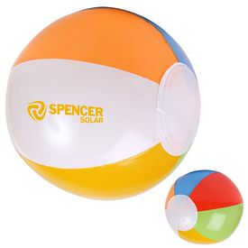 Customized 16 Multi Colored Beach Ball
