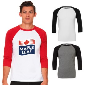 Promotional BellaCanvas Baseball Tee