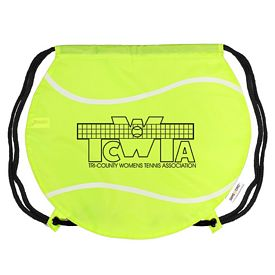 Custom Gametime Tennis Ball Drawstring Backpack