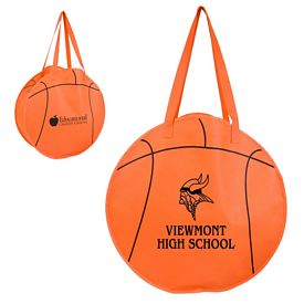 Promotional RallyTotes Basketball Tote Bag