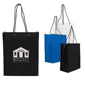 Promotional Nonwoven 8X10X3 Gift Tote Bag