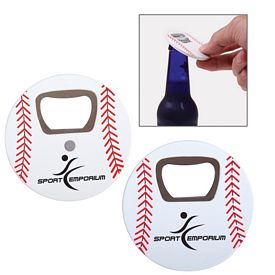 Custom Baseball Bottle Opener