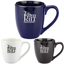 Promotional 15 Oz Bistro Ceramic Mug