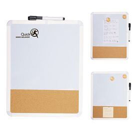 Promotional Fridge Duo White Cork Board