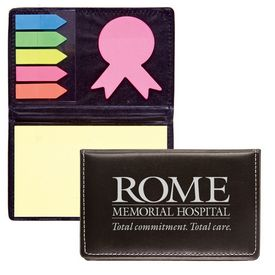 Promotional Awareness Ribbon Die Cut Flag Note Holder - CLOSEOUT ITEM