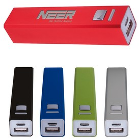 Customized Portable Metal Power Bank Charger