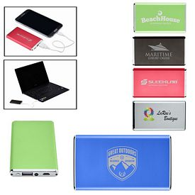 Customized Ultra Slim Power Bank Charger