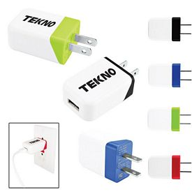 Promotional Two Tone Usb To Ac Adapter
